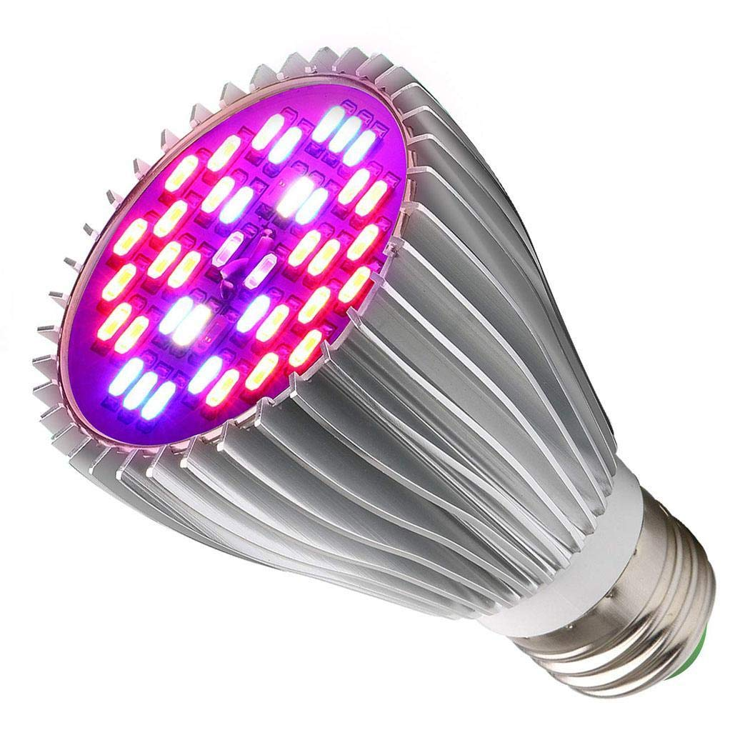 Anstsy 10W 28 LED Plant Grow Lamp Growing Plants Bulb for Indoor Plants LED Bulbs for £6.99