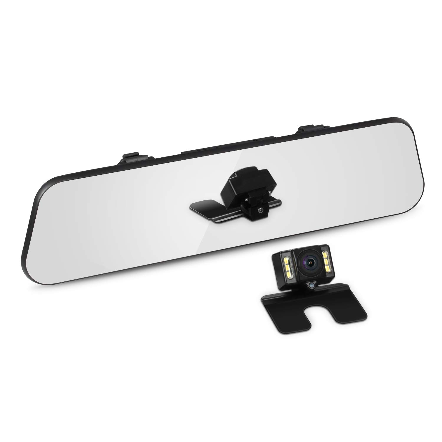 AUTO-VOX M6 FHD 1080P Dual Lens IPS Touch Screen Mirror for £77.39