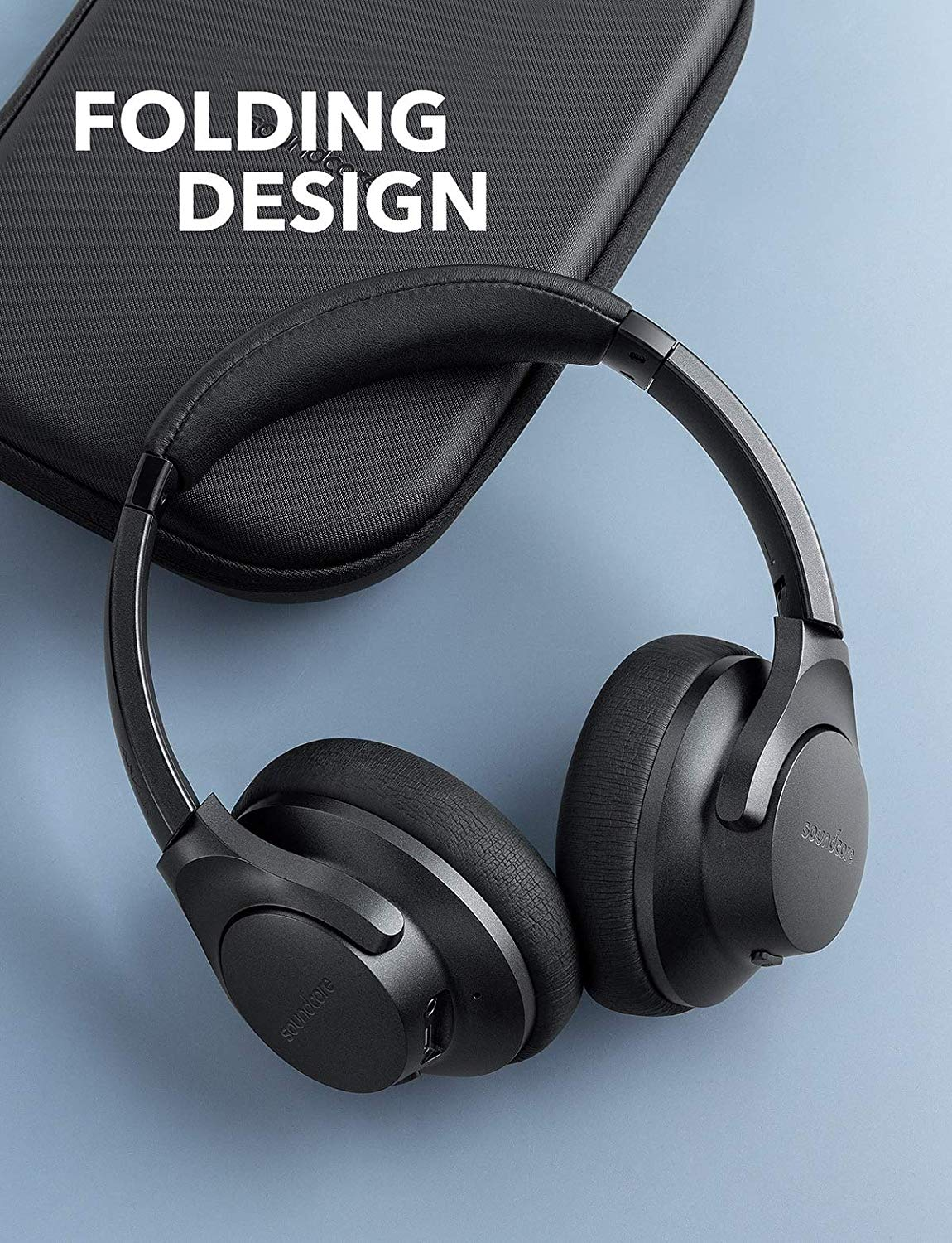 Soundcore Life 2 Active Noise Cancelling Over-Ear Wireless Headphones