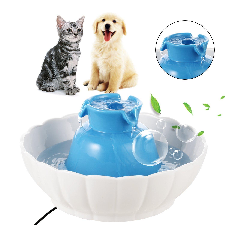 2.1L Pet Ceramic Water Fountain