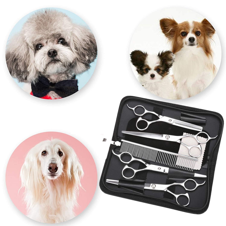 5pcs Pet Grooming Scissors Set