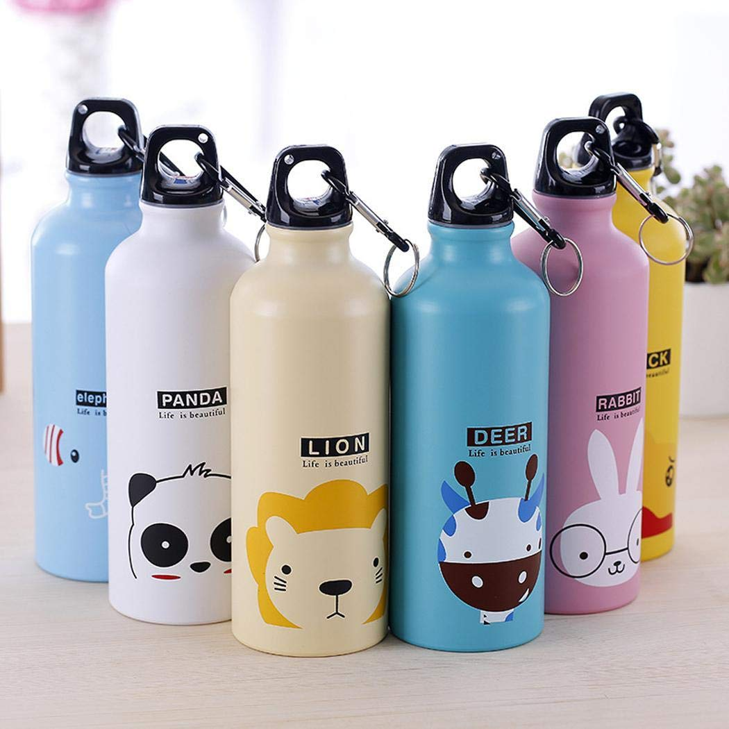 Voiks Cartoon Thermo Cup Stainless Steel Water Bottle Cup