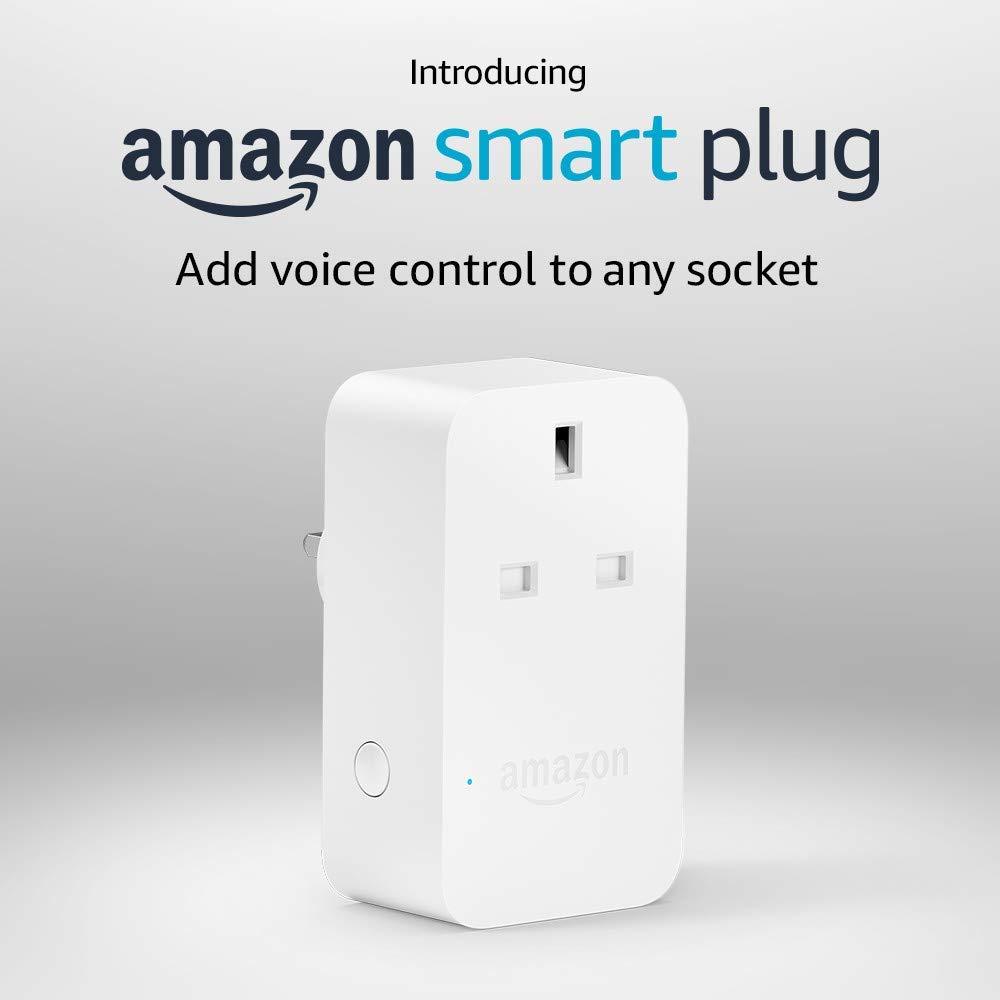 Amazon Smart Plug, works with Alexa for £9.99
