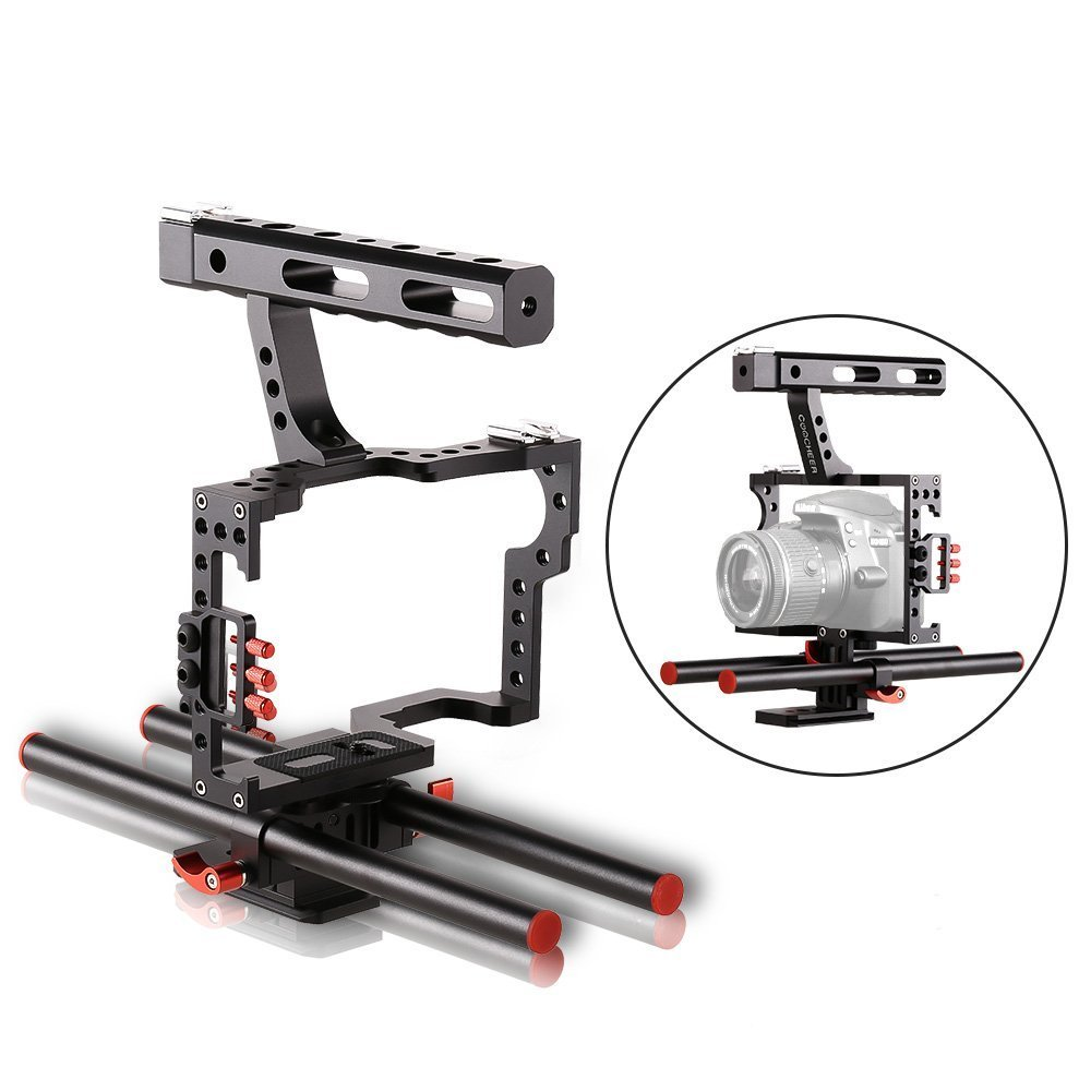 Sailnovo Aluminium Alloy Camera Cage,DSLR Rig Film Movie Video Stabilizer Cage Making