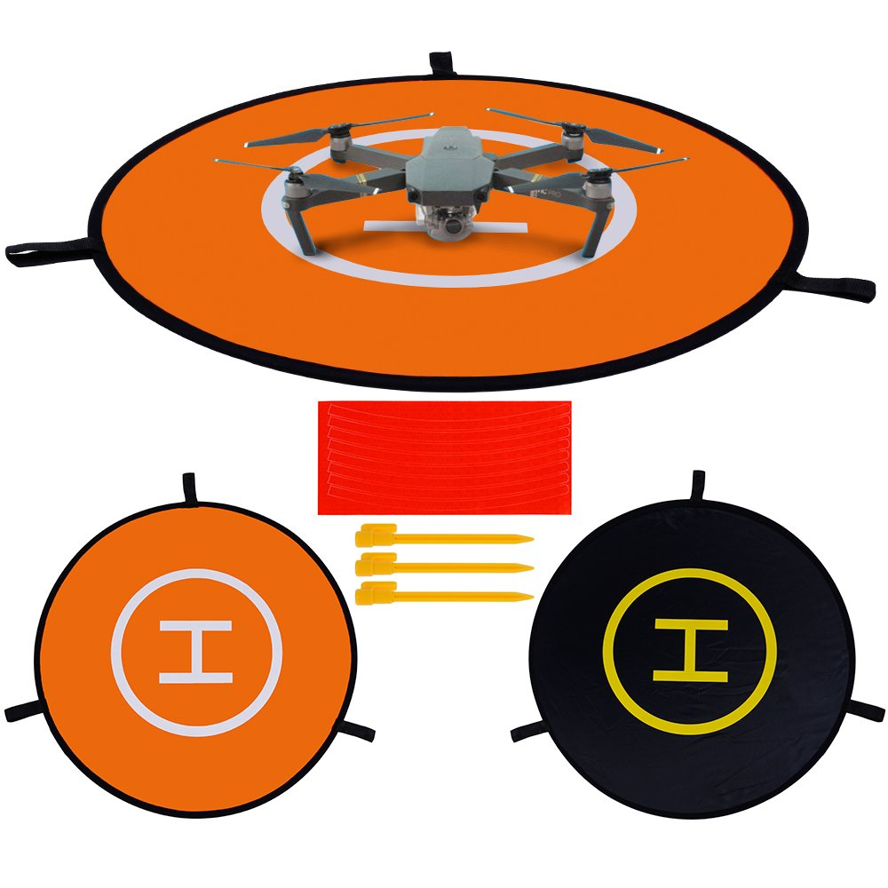 31″ (80cm) Landing Pad Quick-folding Quadcopter Launch Pad for RC Drone