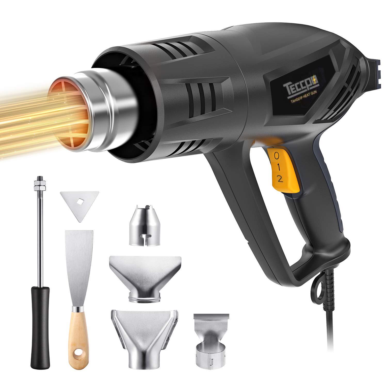 Heat Gun, TECCPO 2000W 240V Professional Hot Air Gun