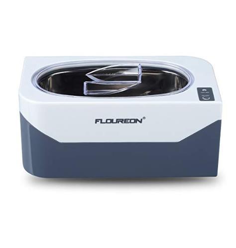 FLOUREON 400ml 600ml Ultrasonic Jewelry Cleaner Machine