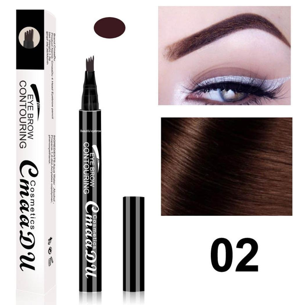 Cokil Womens Ladies Makeup Cosmetic Natural Long-lasting Waterproof Eyebrow Pencil Eyebrow Colours