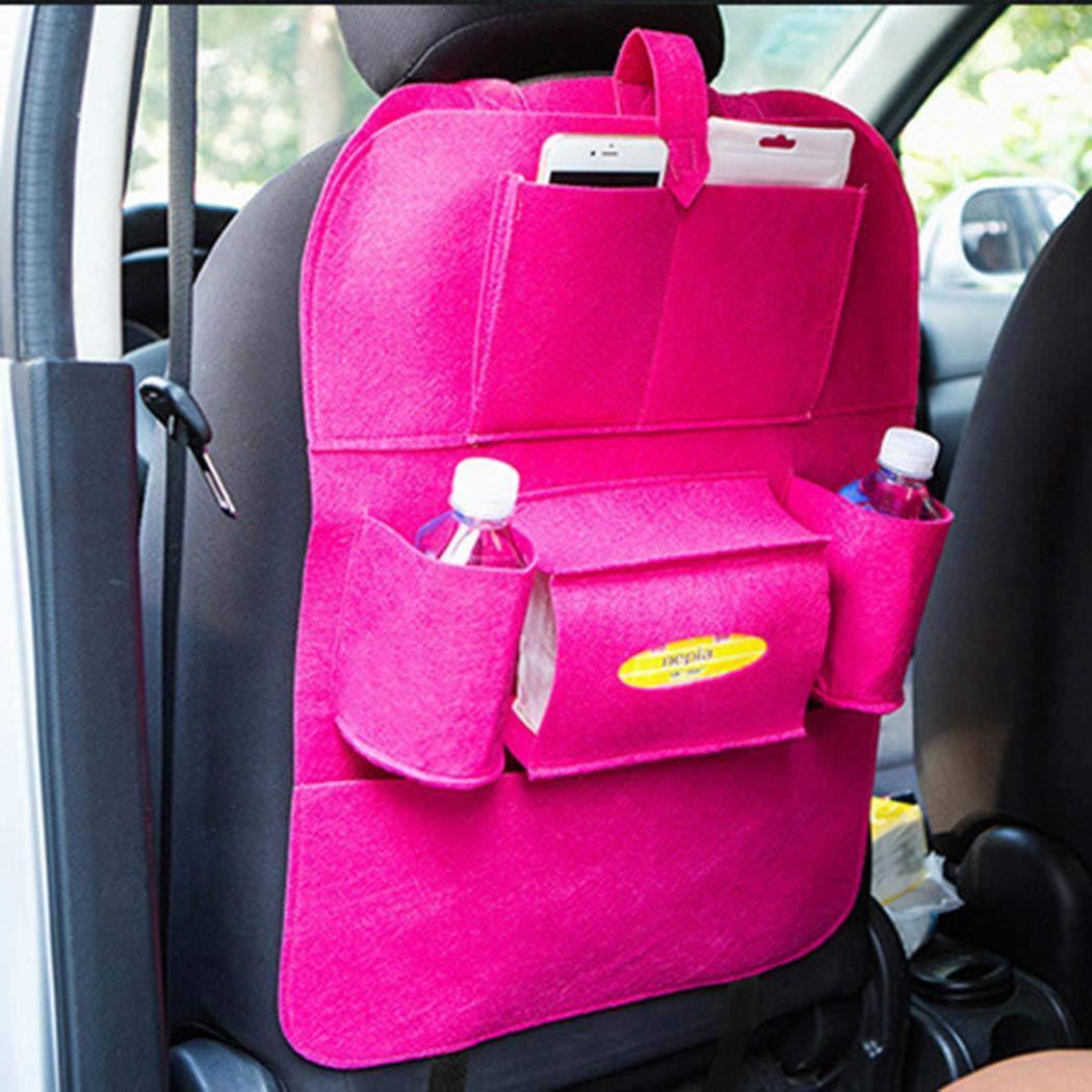 Carsge Auto Car Back Seat Multi Pockets Storage Organizer Holder Bag