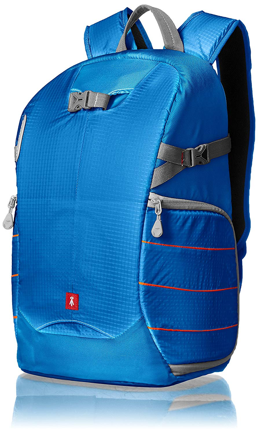 AmazonBasics Camera Backpack, Trekker Series – Blue