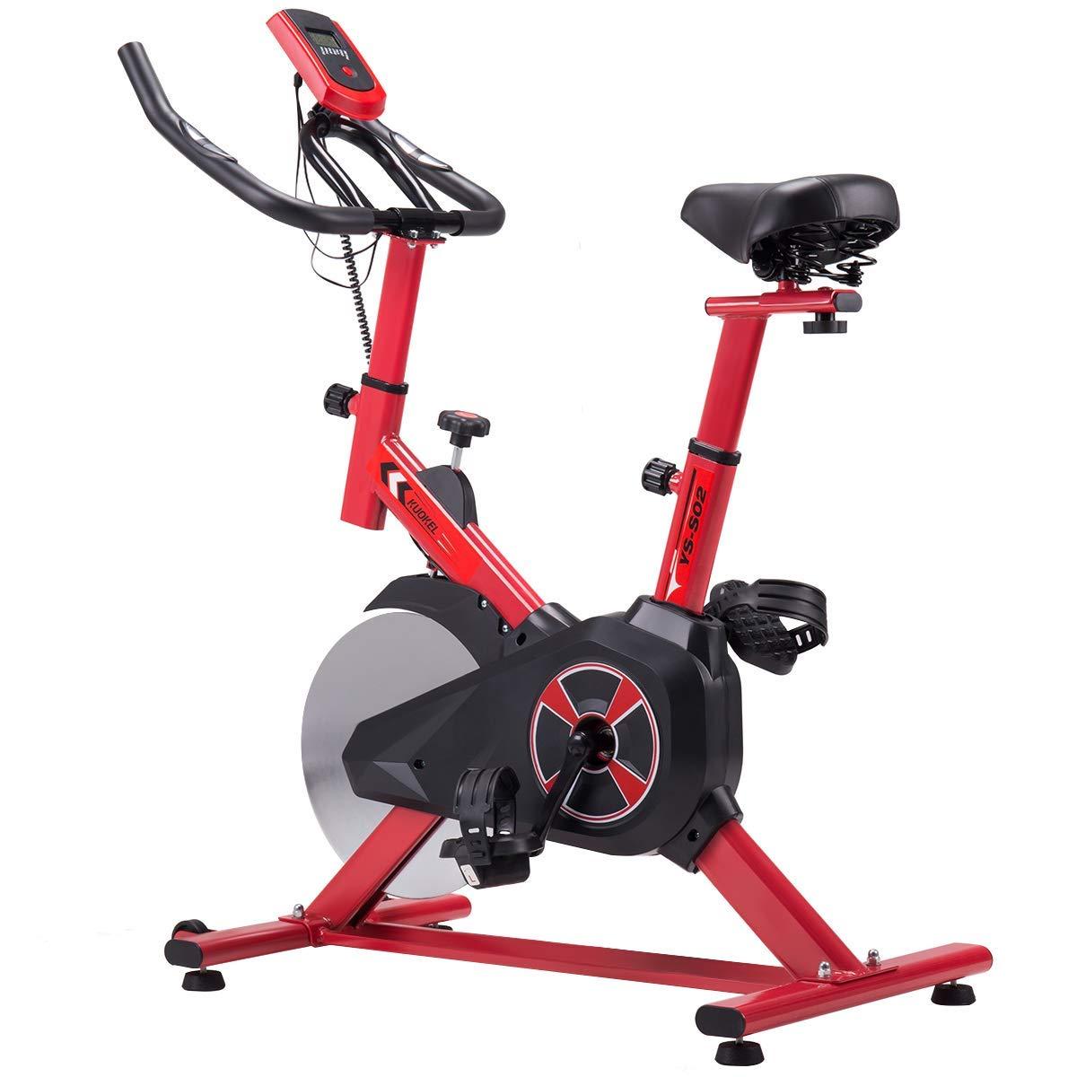KUOKEL K601- Indoor Cycling Bike Exercise Bike with 22lb Flywheel