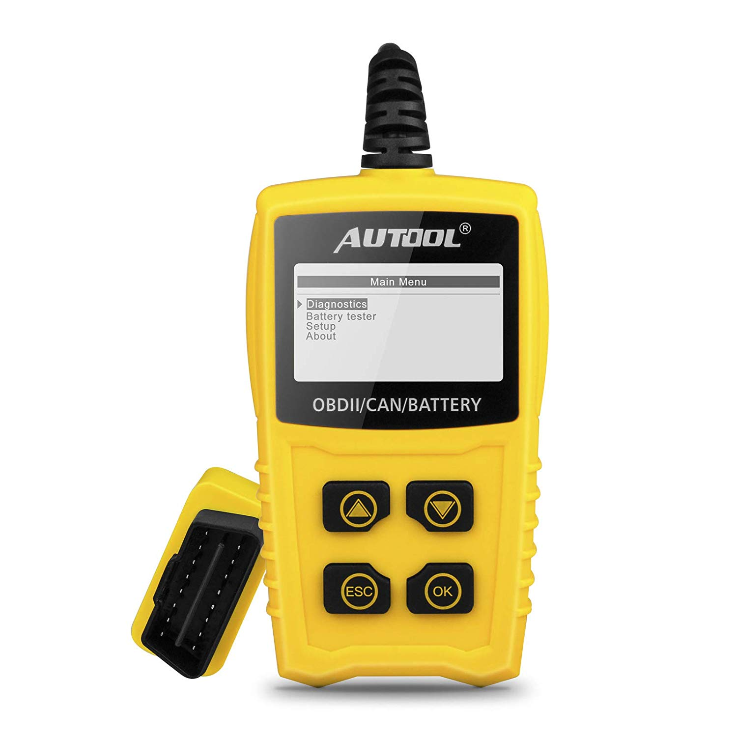 Code Reader, CS330 Automative Diagnostic Engine Code Scanner Tester Car Engine Fault Code Reader