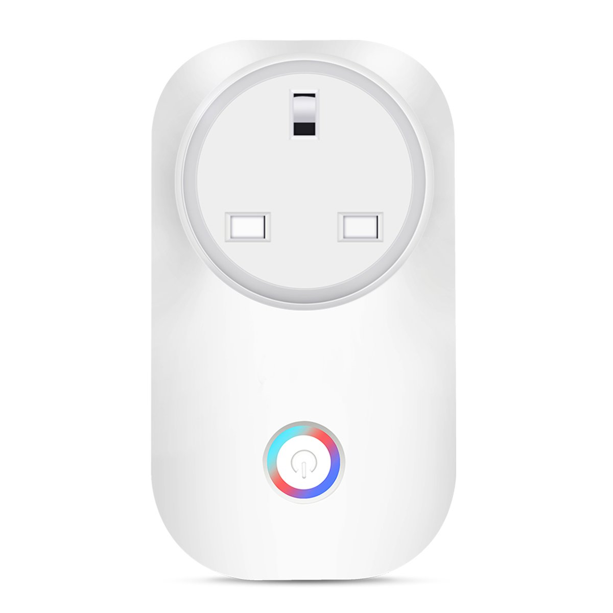 Smart Plug Outlet Timmer Switch Energy Monitoring Compatible with Alexa Google Home Echo No Hub Required Remote Control Your Devices