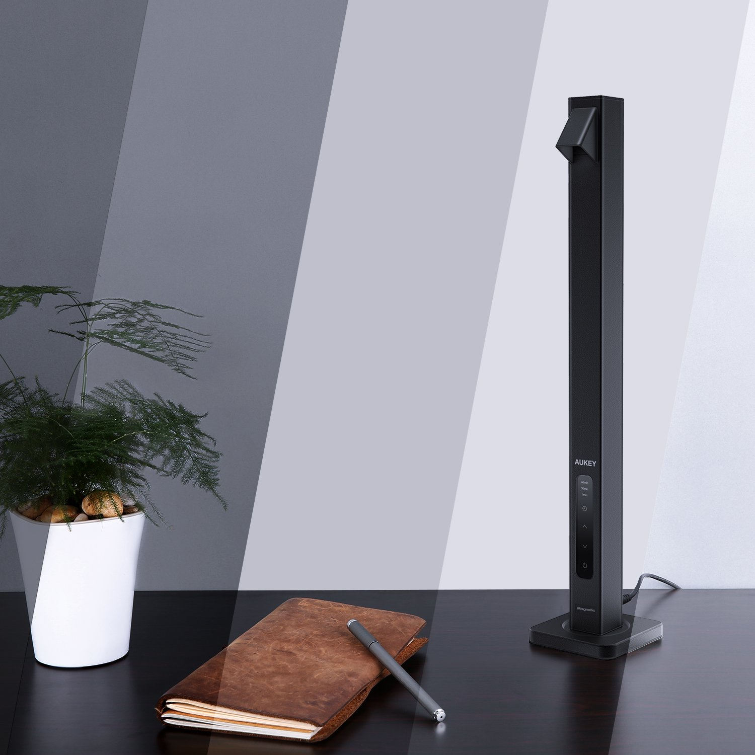 AUKEY Desk Lamp with Space-Saving Design