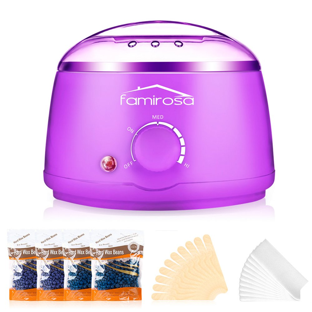 Wax Warmer, Hair Removal Waxing Kit Electric Wax Heater