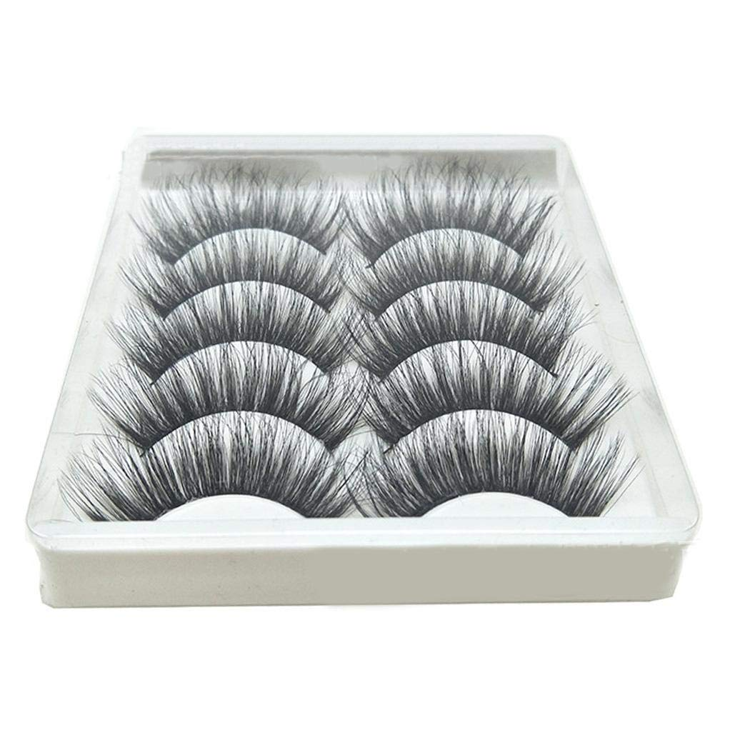Eyelashes 5 Pairs Pack 3D Fake Eyelashes
