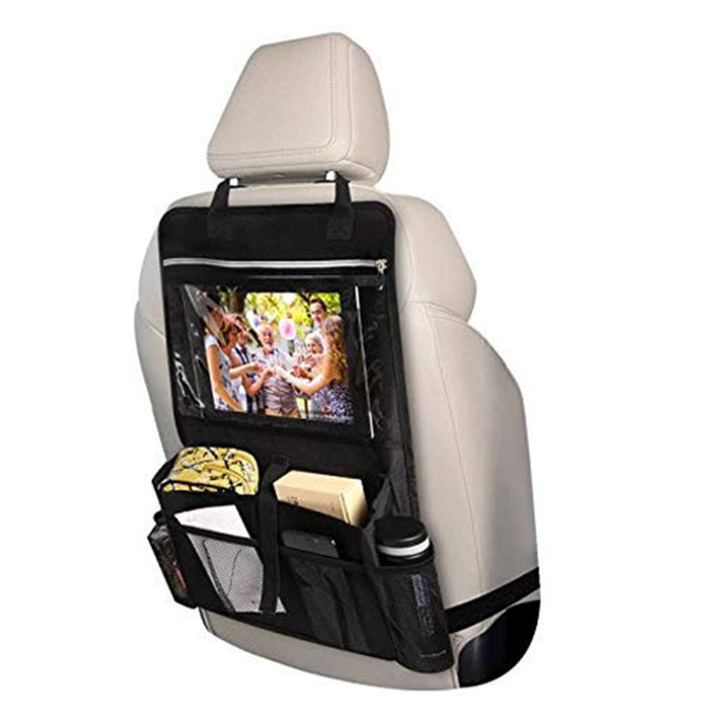INTEY Car Seat Organiser Car Back Seat Organiser Multi-Pocket with Tablet Holder 1 pack