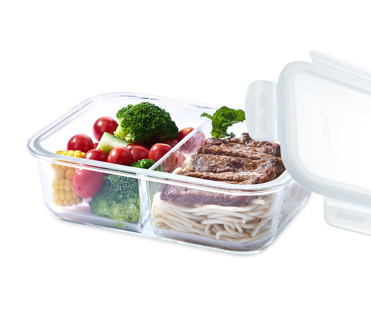 EASYLOCK Glass Food Container