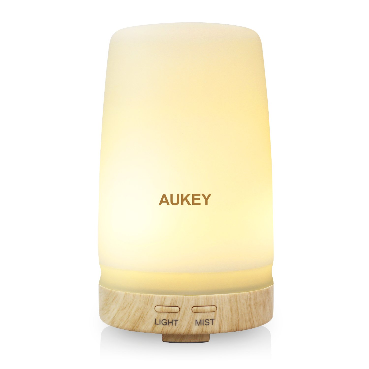 AUKEY Aroma Diffuser with Two Color LED Light, 100ml