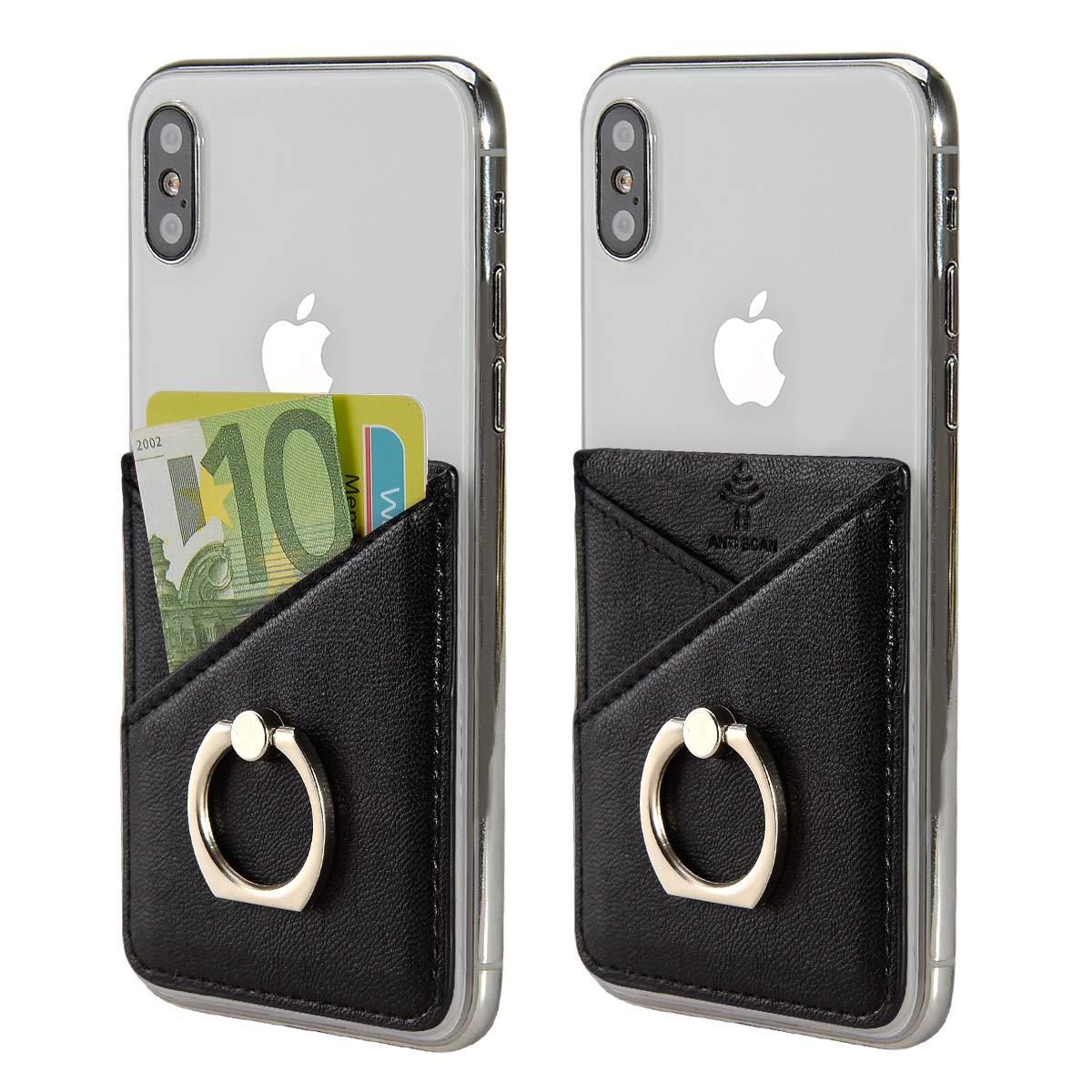 takyu Card Holder Phone Sticker with Ring