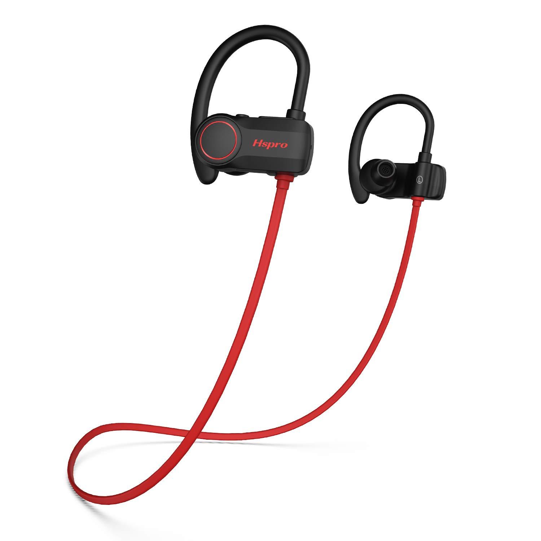 9.99!!!!!  35% OFF!!!!!Bluetooth Headphones, HSPRO IPX7 Waterproof Wireless Sport Earphones Running