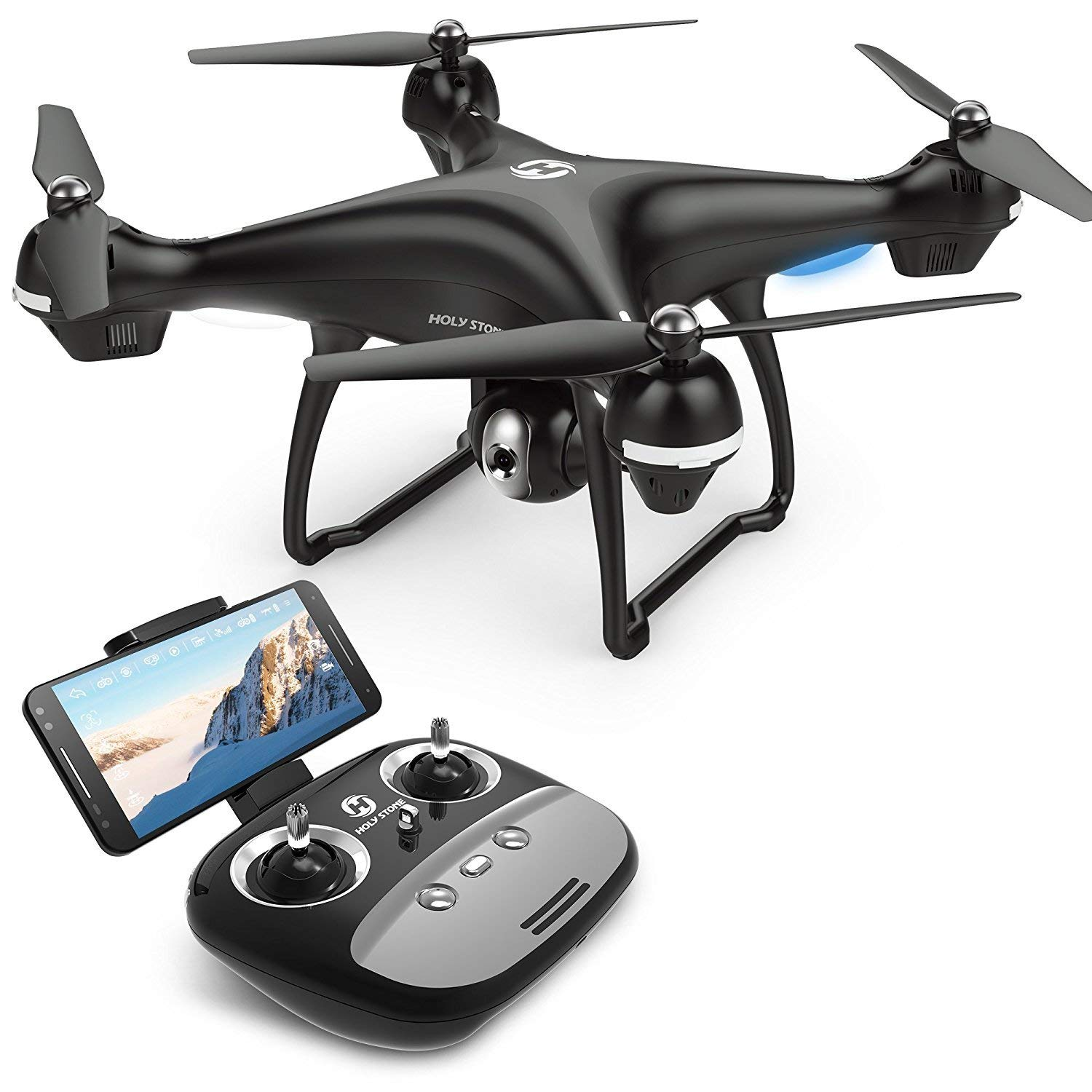 15% OFF Holy Stone GPS FPV RC Drone HS100 with Camera Live Video 1080P HD and GPS