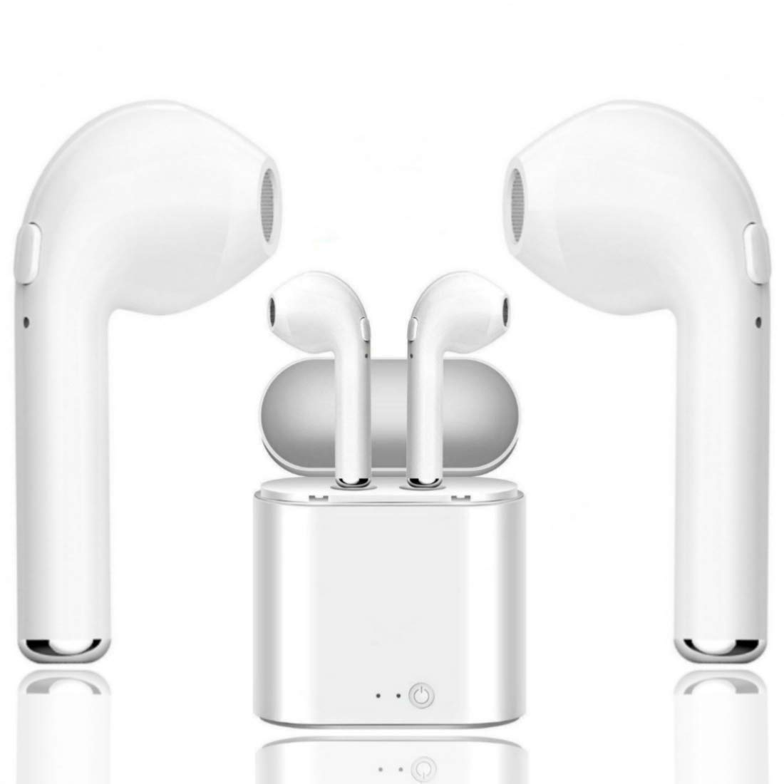 Bluetooth Headphones, Wireless Earbuds Stereo Sound Noise Canceling