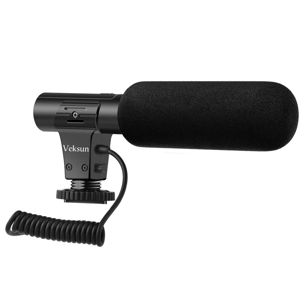 Camera Microphone,Video Microphone for DSLR Interview Shotgun Microphones
