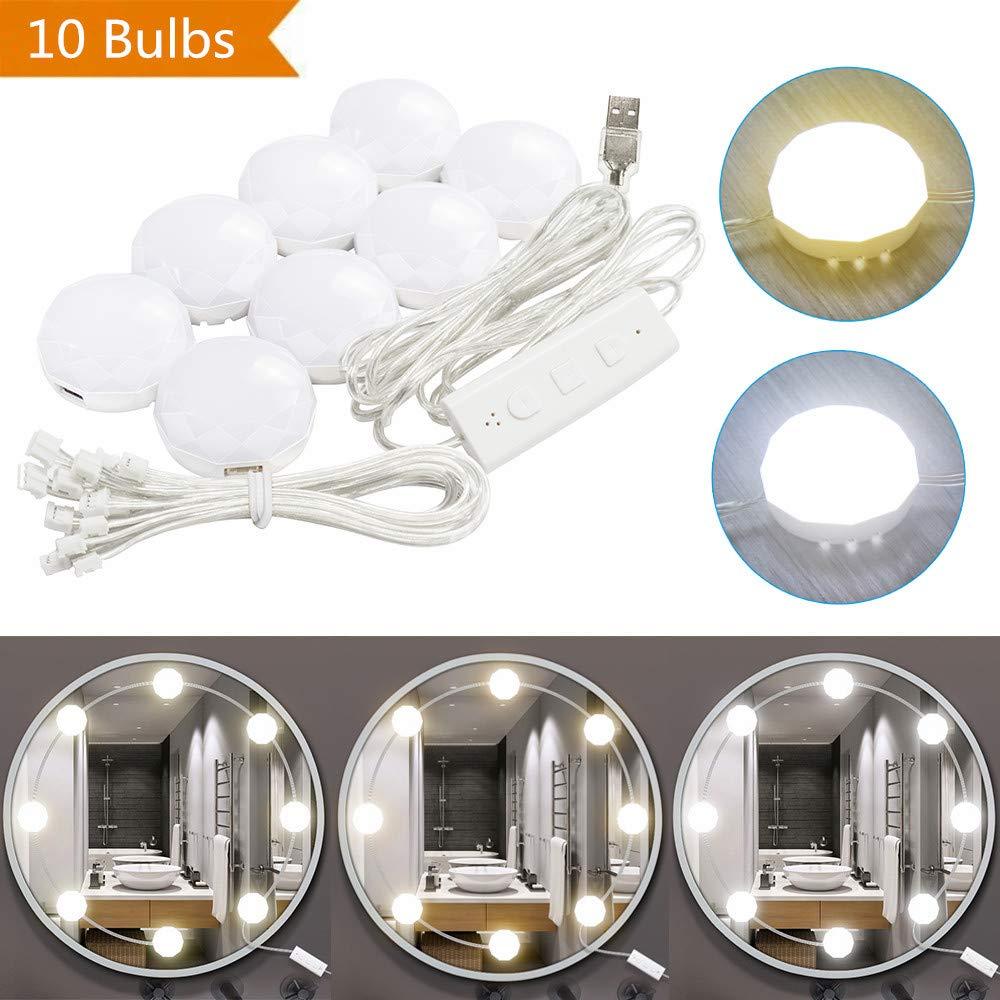 LED Vanity Mirror Lights Kit, Makeup Mirror Light,DIY Dressing Table Vanity Set Mirrors