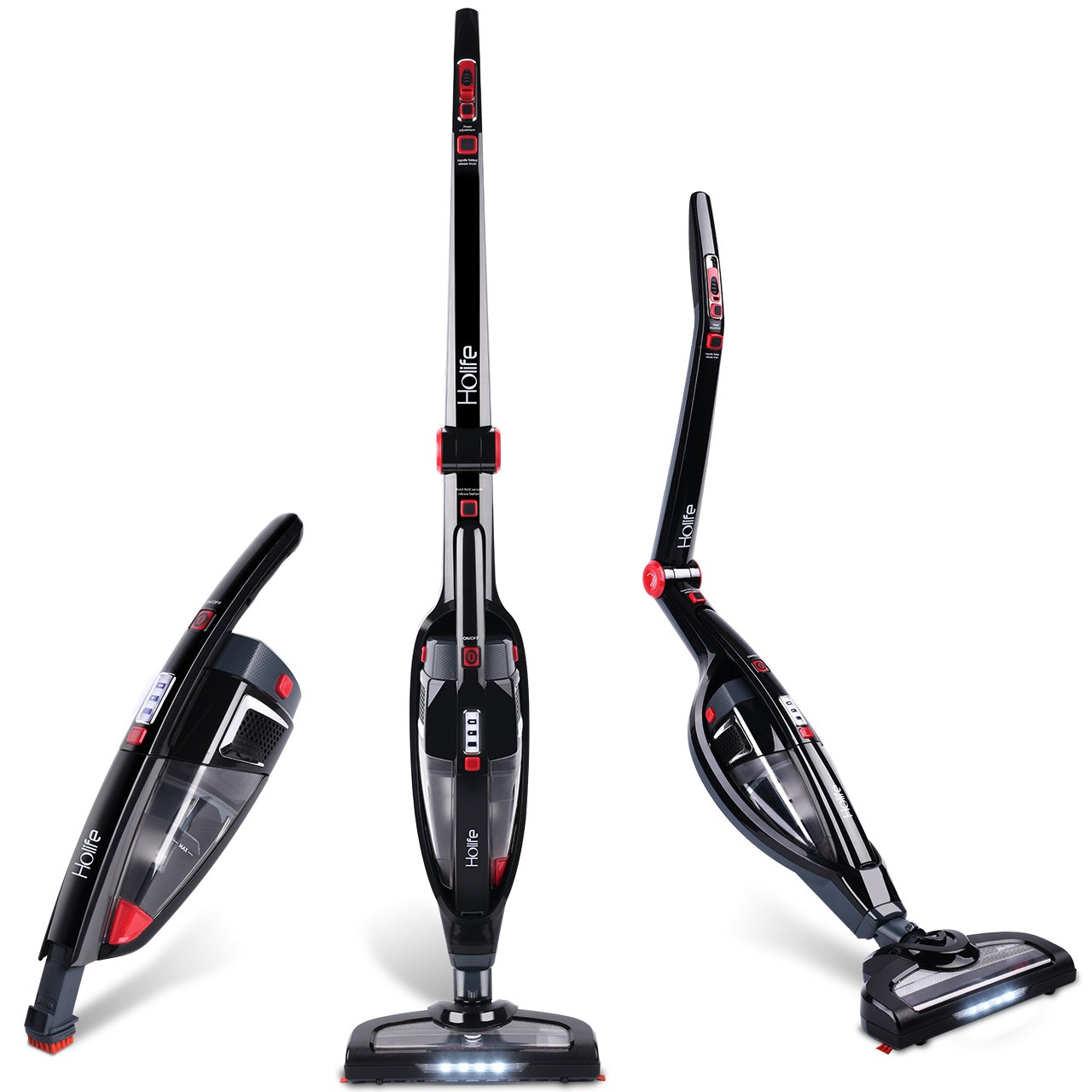 2 in 1 Handheld Upright Cordless Stick Rechargeable Vacuum Cleaner