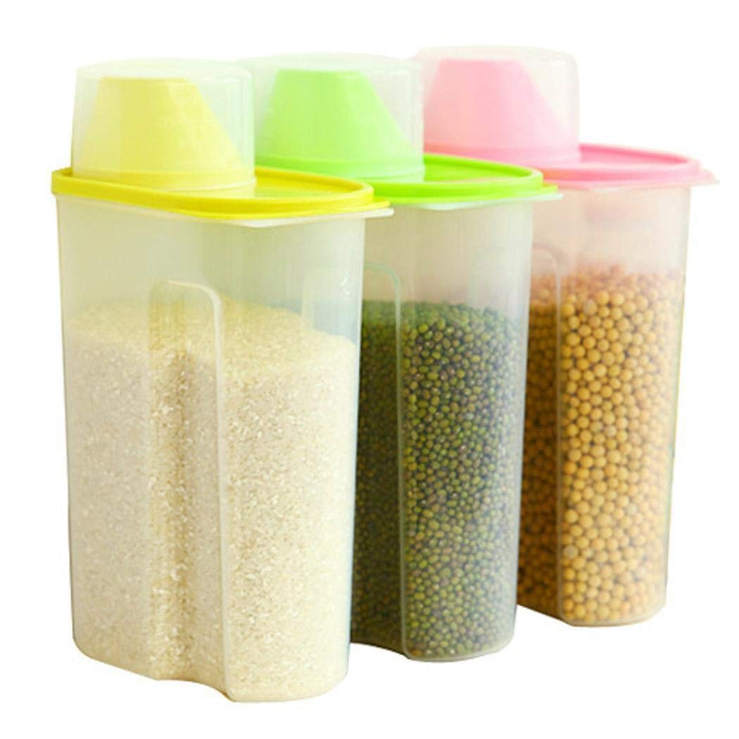 Sliwei Food Storage Containers -Sealed Fresh-Keeping Food Storage Container Storage Jar