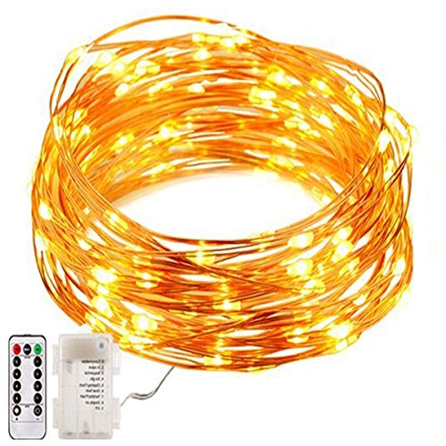 LED String Lights 50 LED Wire Lights Fairy Starry Lights
