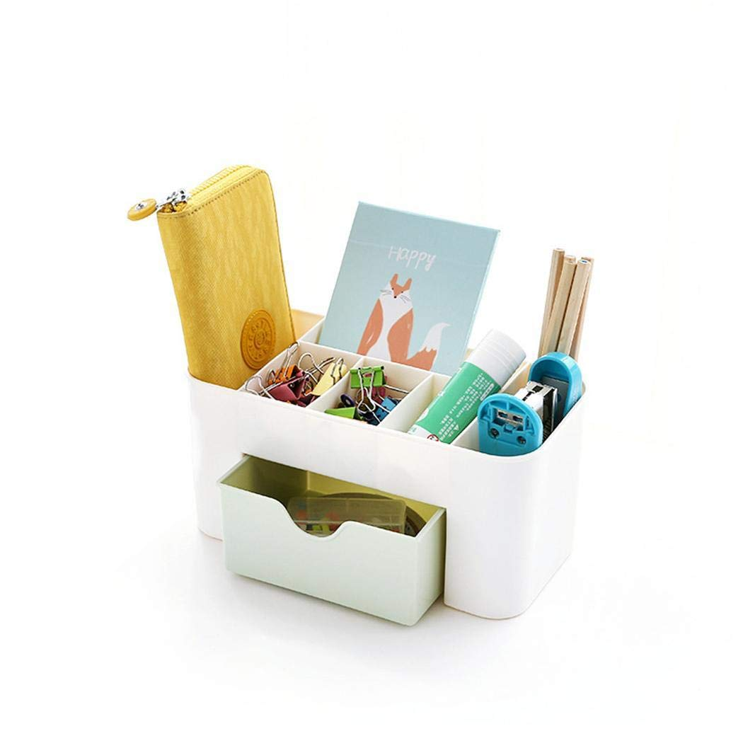 Multipurpose Candy Color Office Sundries Makeup Drawer Organizer