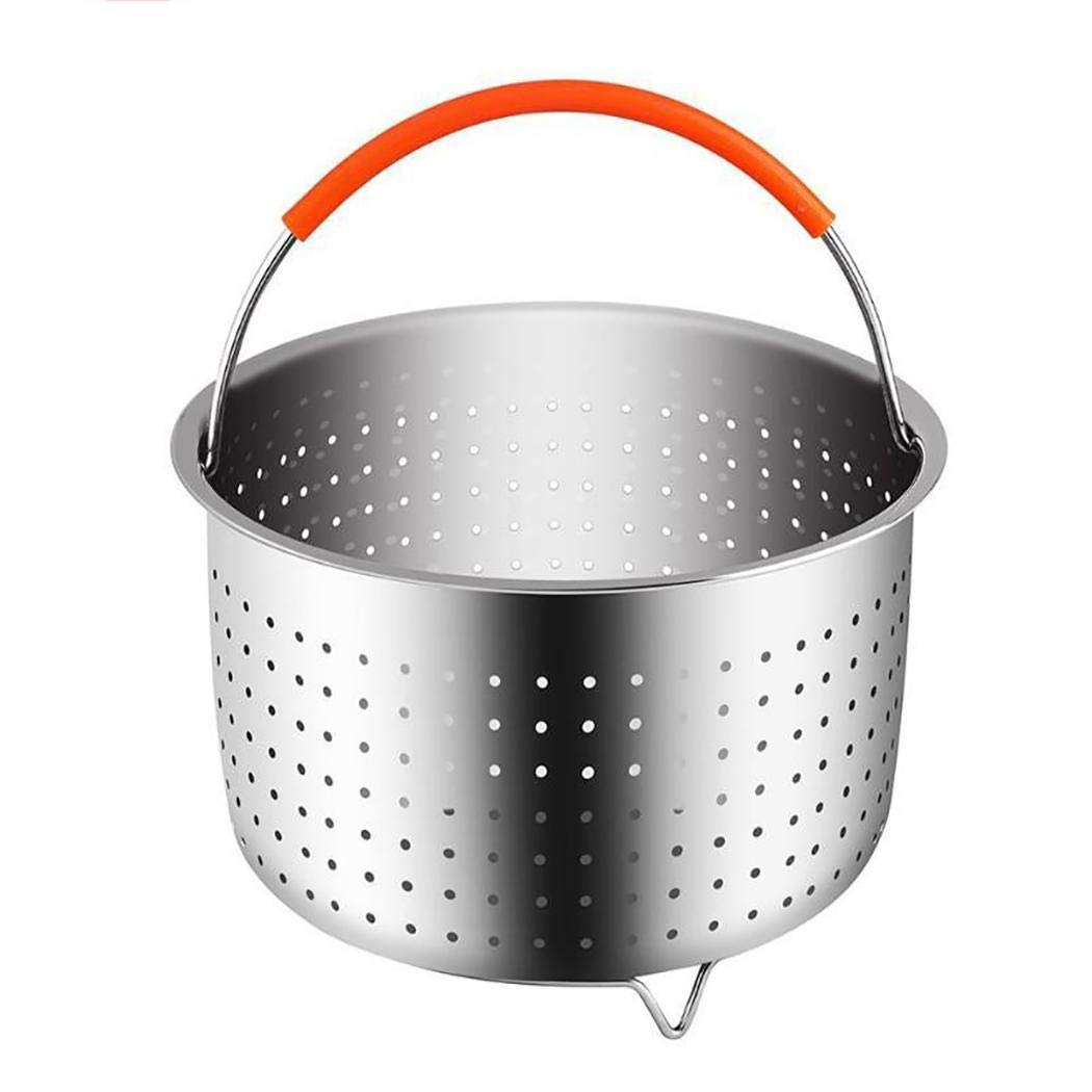 Stainless Steel Steamer Basket With Handle Steaming Vegetables Fruits