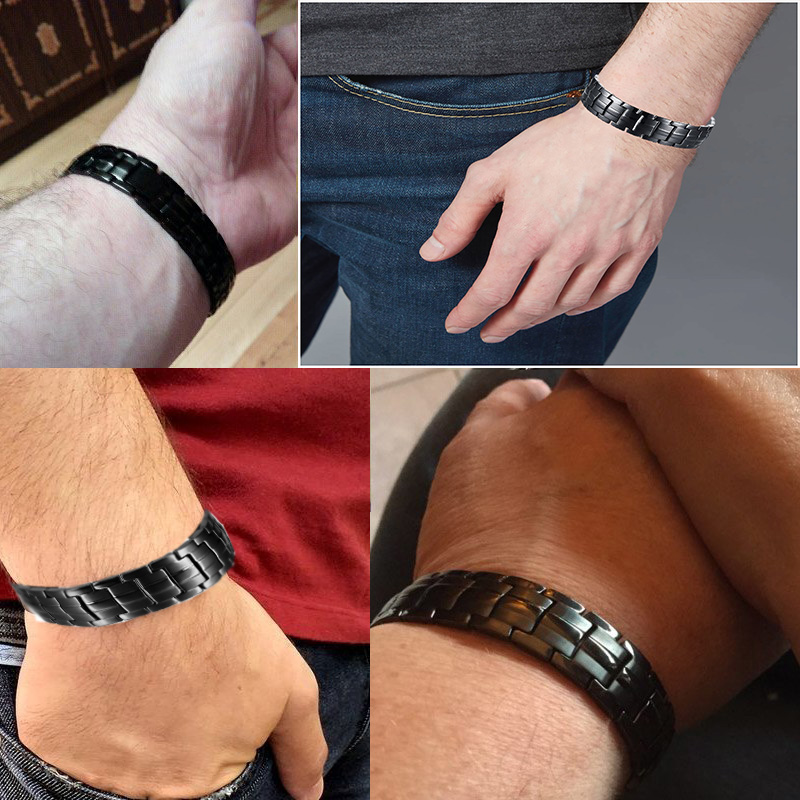 50% off codes men's fashion bracelet health care magnetic bracelet