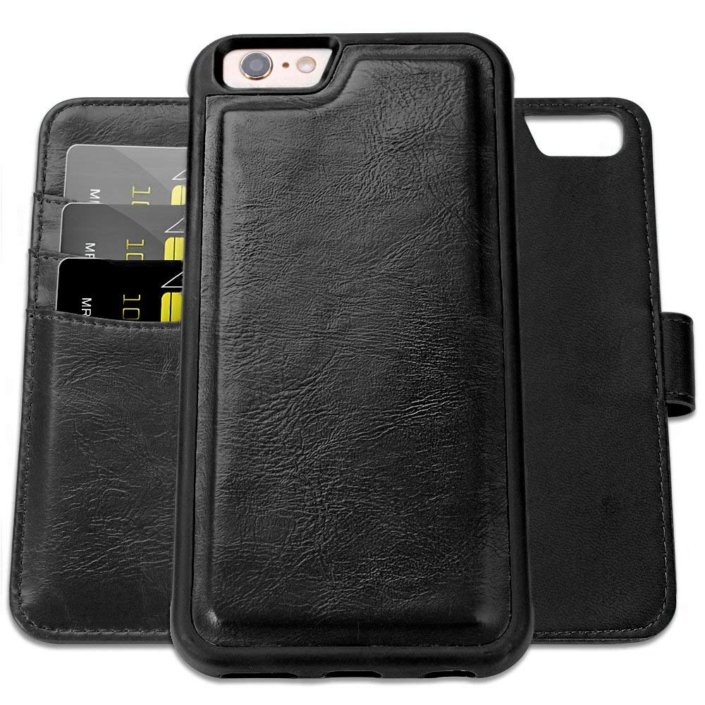 Wallet Case Compatible with iPhone 6 PLUS/ 6s PLUS (5.5 inch),SHANSHUI PU Leather Case Walle