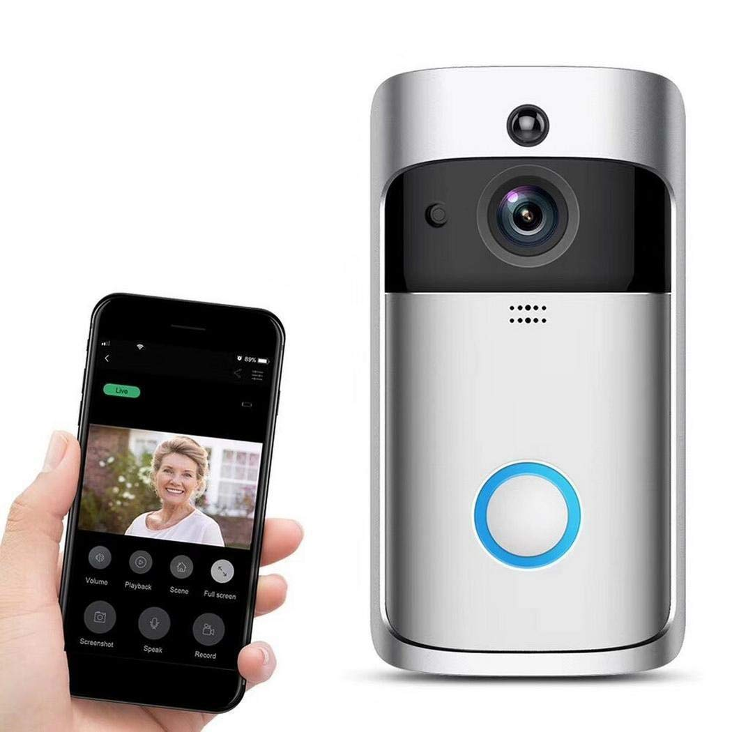 Home Portable Security Wireless Remote Monitoring Real-Time Two-Way Talk Video
