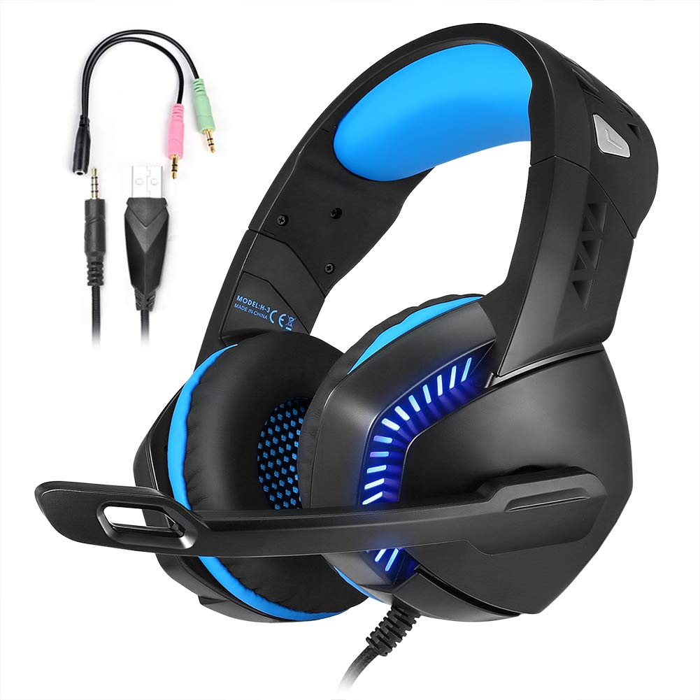 Gaming Headset with 7.1 Surround Sound
