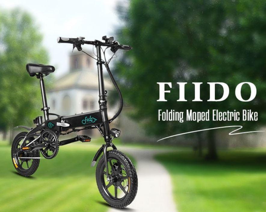 29% off FIIDO D1 Folding Electric Bike Moped Bicycle E-bike