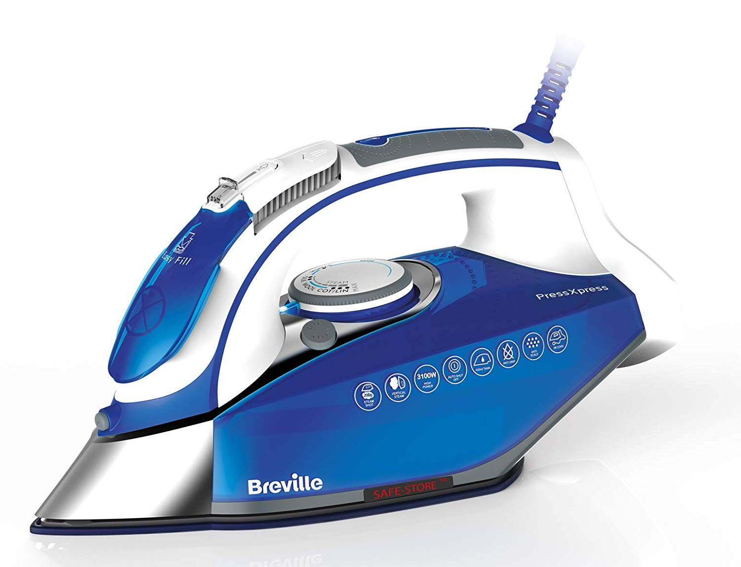 Breville PressXpress 3100W Steam Iron VIN340