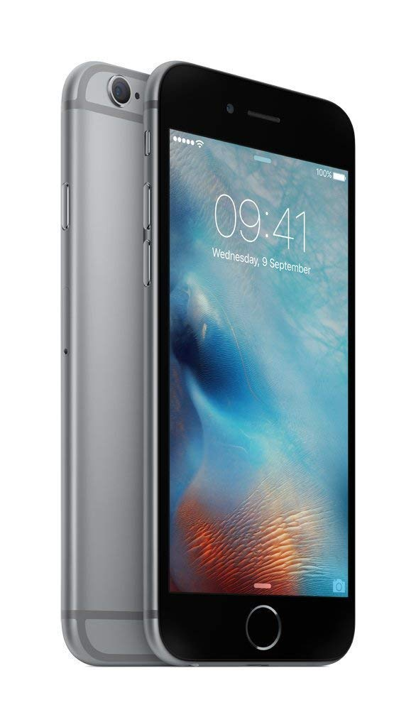 Roll over image to zoom in Apple iPhone 6S 16 GB UK SIM-Free Smartphone – Grey (Renewed)