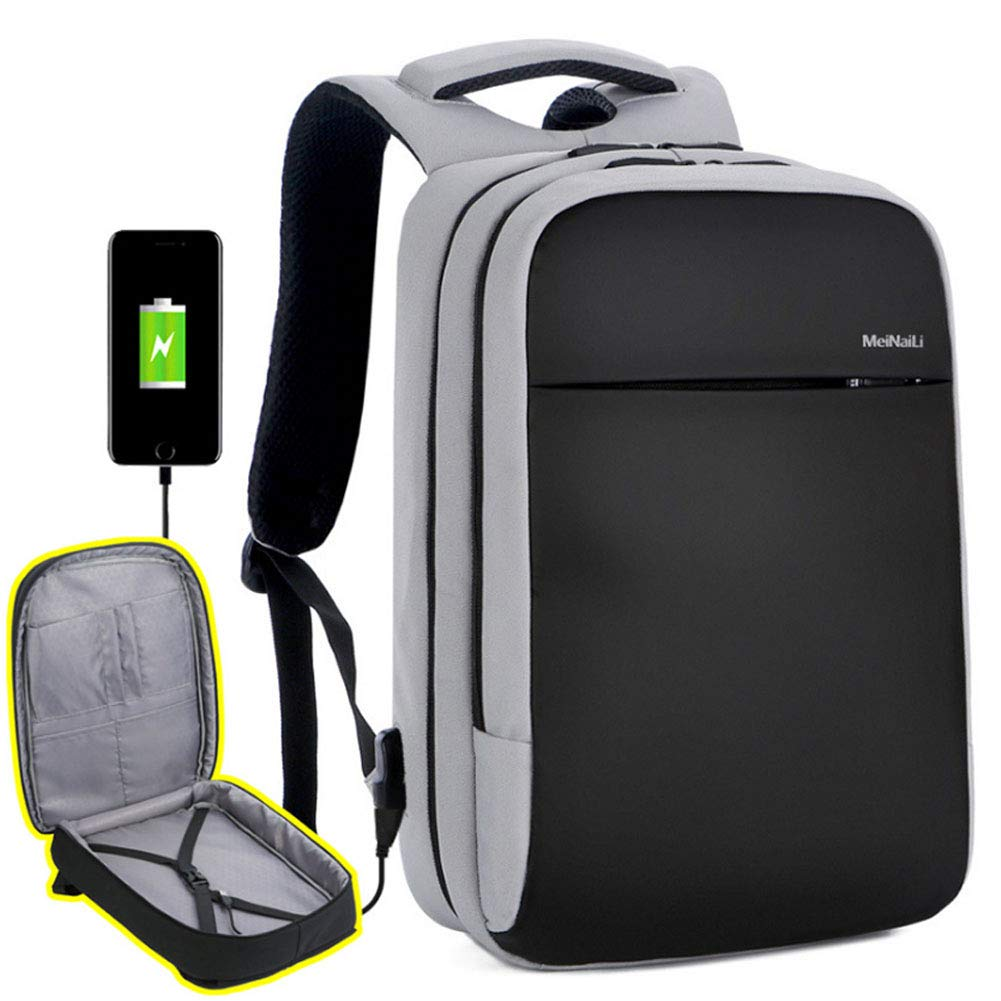 Water Resistant Charging Laptop Backpack