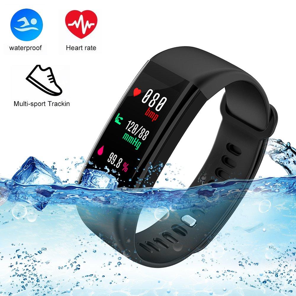 Fitness tracker ,Black/Pink