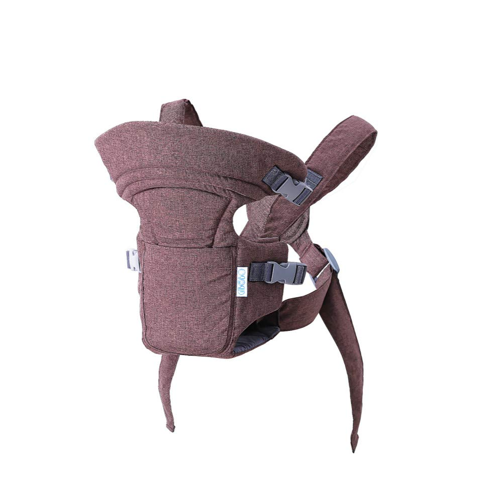 Ergonomic Baby Carrier, Premium & Adjustable Front and Back Child Carrier, Supports Your Baby's Head and Neck