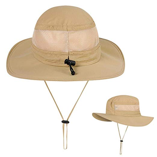 Outdoor Summer Boonie Hat, Operator Floppy Sun Cap UV Sun Protection