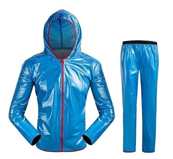 Unisex Waterproof Rain Jacket Rainwear Outdoor Sports Cycling