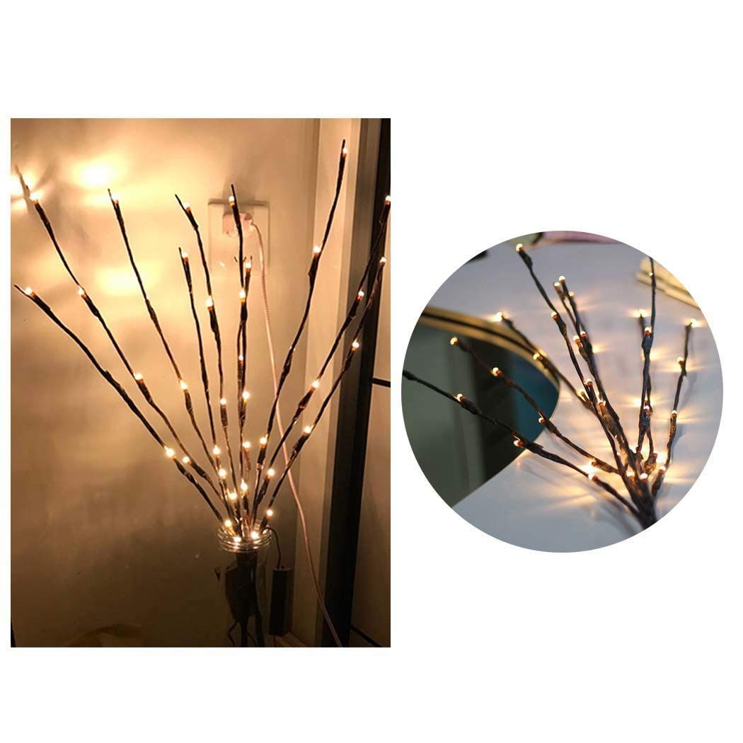 Branch Lights – Led Twig Lights Battery Powered  Filler Willow Twig Lighted Branch