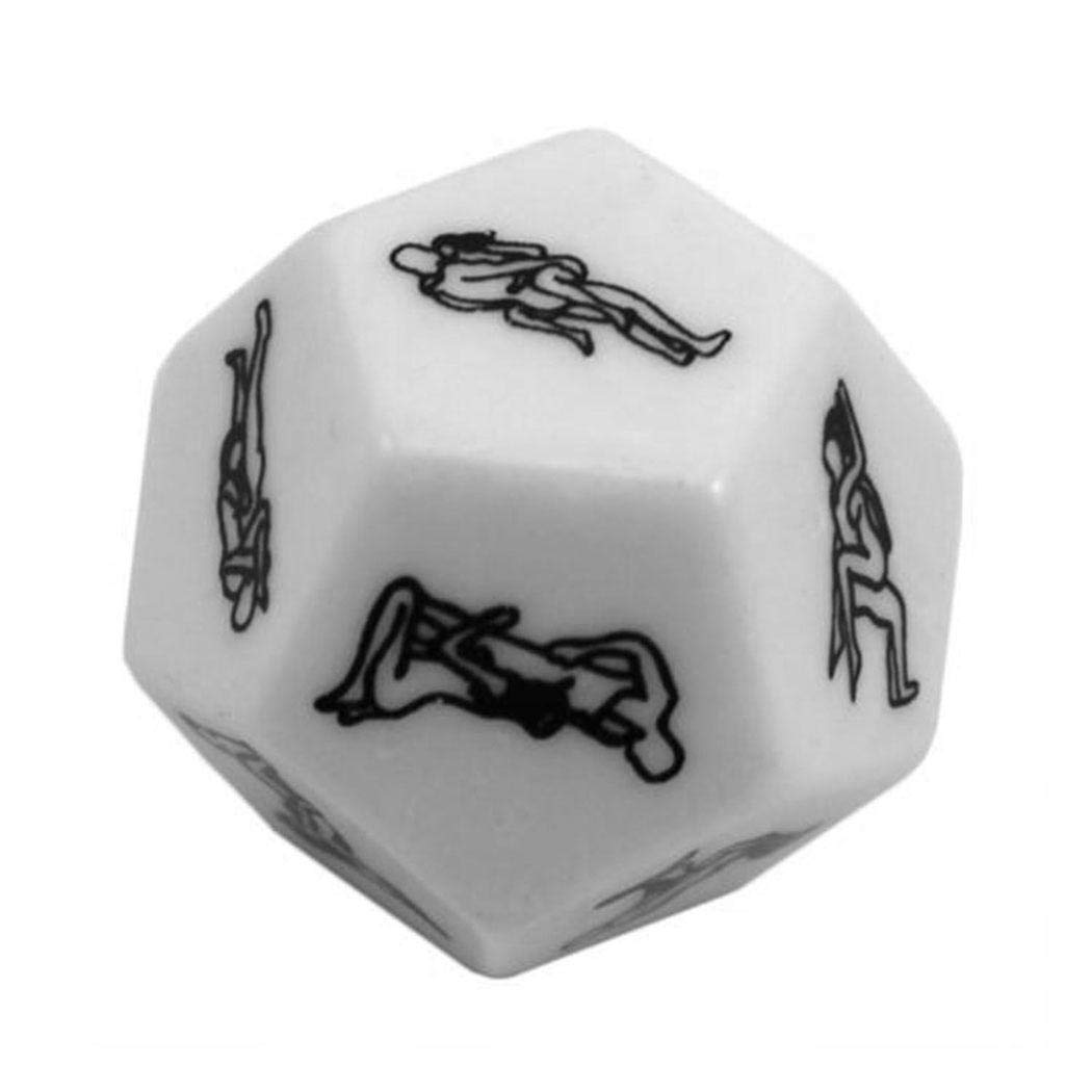 Xixini 2pcs New Sex Delight Multi-faceted Dice for Adults Men Women Lovers Couple Comfortably Sex Life