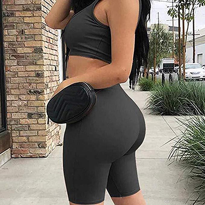 50% off Woman Casual Solid Elastic Leggings