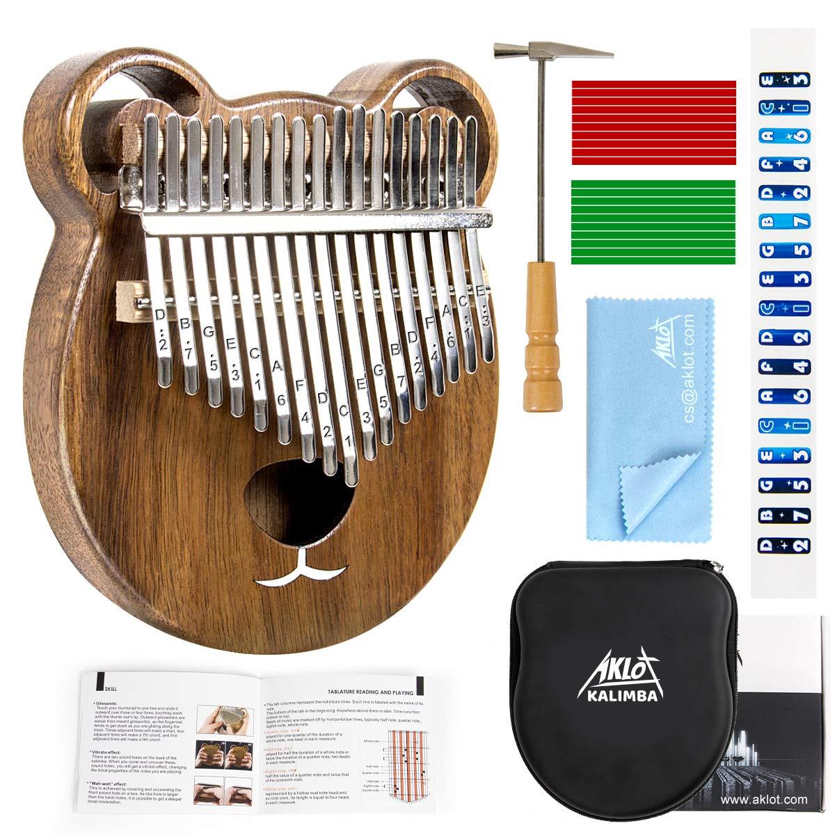Kalimba Thumb Piano Marimbas